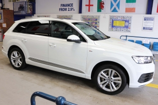Click to view details about AUDI Q7 S-LINE 3.0TDI 272BHP QUATTRO 7 SEAT 4X4