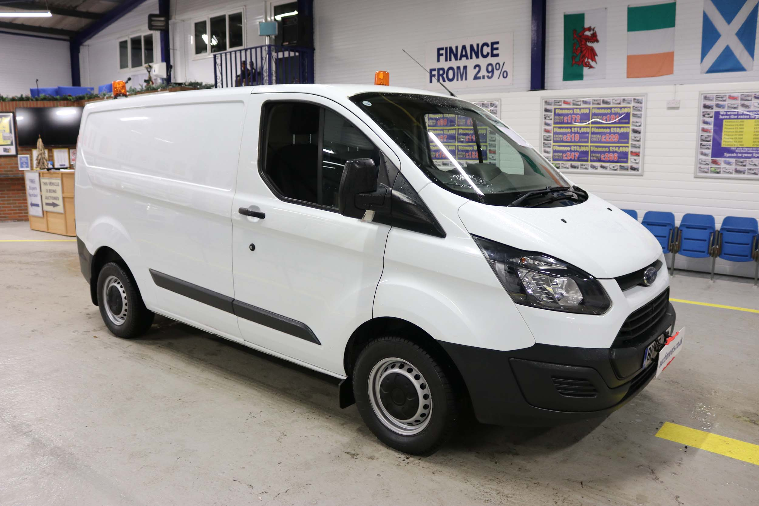 Click to view details about FORD TRANSIT CUSTOM 270 ECO-TECH 2.2TDCI 100PS SWB VAN